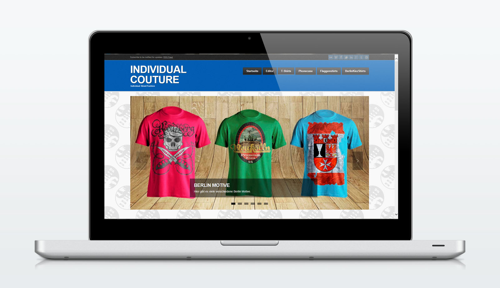 Individual Couture Website